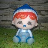 lovely collection Винтажная коллекционная кукла пупс клеймо пупсик резиновая игрушка