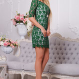 Шикарное платье из дорого гипюра 748