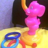 Акция Игрушки Игрушка-Кольцеброс Kiddieland Ловкий слоненок