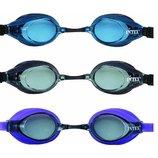 Очки для подводного плавания от 8лет 3цвета 55691 Интекс Intex