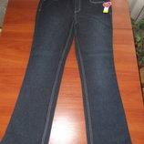 темно- синие джинсы с бирюзовым поясом из Америки