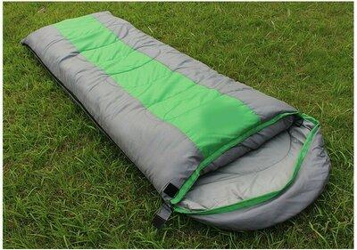Спальный мешок, спальник, с капюшоном, туристический, рыбацкий, качественный, до -9, теплый