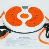 Диск,диск здоровья,с,эспандерами,для,похудения,коррекции,массажный,эфективный,с,магнитный