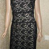 Платье кружевное размер 14-16 новое с биркой