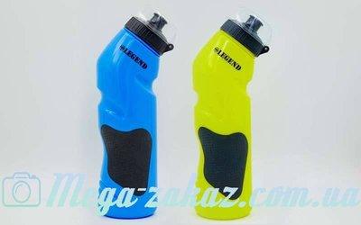 Бутылка для воды спортивная Legend 5166 2 цвета, объем 750мл