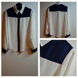 Новая Стильная Белая Блуза