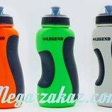 Бутылка для воды спортивная Legend 5167 3 цвета, объем 500мл