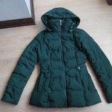 куртка зеленая фирменная рр XS Tommy Hilfiger Томми Хилфигер