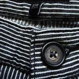 Мужские шорты в полоску стрейч GEORGE DENIM 30 W