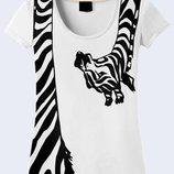 Фирменная футболка Экзотический жираф