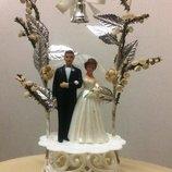 Яркие Фигурки Жениха И Невесты для Торта