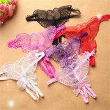 Сексуальные трусики Бабочка Эротическое белье Сексуальное белье