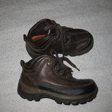 17 см стелька, кожаные деми ботинки RedGoose. USA