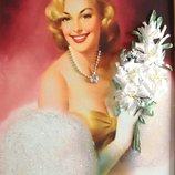 Дама с лилиями