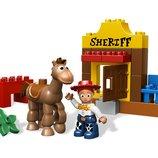 LEGO DUPLO история игрушек 3 Джесси на работеToy Story Jessie's Roundup 5657