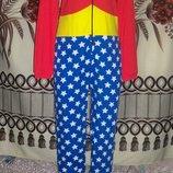 Фирменная пижама-слип Кигуруми DC Comics, футужама 12-14, Індія.