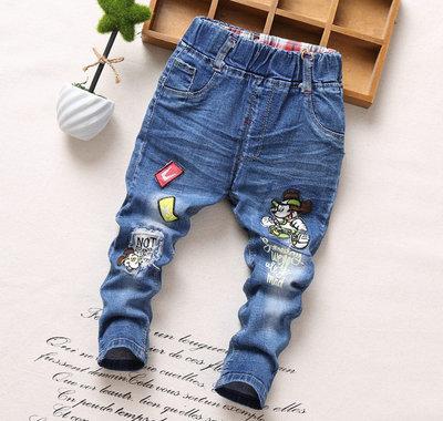 Стильные джинсы узкачи рост 90, 100, 110, 115, 120