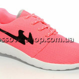 кроссовки Nike roshe run копия сетка 36-41