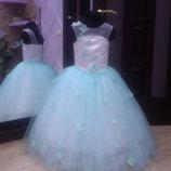 нарядное детское платье арт.5217