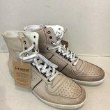 Новые крутые Итальянские 43 р фирменные кожаные ботинки