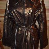 Куртка С Блеском Пояс