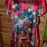 платье Нежное атласное платье в стиле прованс