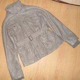 Новая кожаная куртка Next 11-12 лет, 152 см, Оригинал