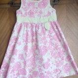Летнее платье хлопковое Тм Cherokee б. у. рост 104-110