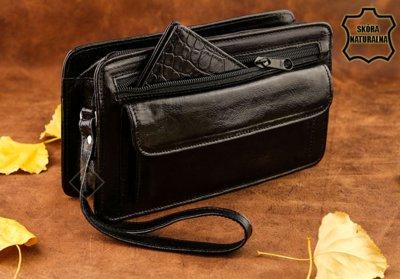 9c830643c9c3 Мужская барсетка бренд Rovicky натур. кожа Италия: 799 грн - мужские ...