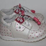 Кожаные туфли р. 21-25