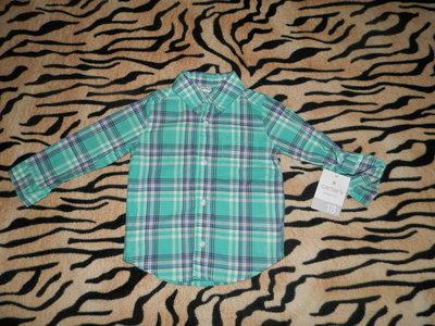 Рубашка Картерс Carters . Новая.