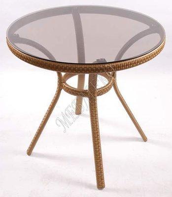 Мебель для кафе, Стол Из Ротанга Блюз