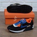 Кроссовки кожаные Nike Air Max 90 мужские фирменная упаковка 41-46р