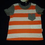 Отличная футболочка Бемби р.74-98