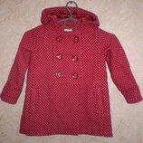 демисезонное пальто Next 2-3 г. 98 см