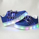 Детские светящиеся кроссовки с led подсветкой для девочки21, 22, 23, 24, 25, 26