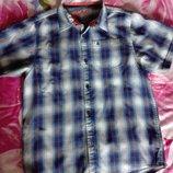 Рубашка на мальчика 12 13 лет Rebel
