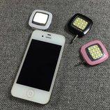 вспышка для селфи светодиодная для телефона