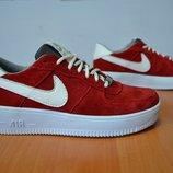 Замшевые кроссовки Nike.Кроссовки Найк.