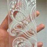 Распродажа Новый нарядный Бампер чехол пластиковый с кружевом на iphone 5/5s