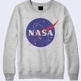 Оригинальный свитшот NASA космос Три цвета