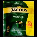 Акция Растворимый кофе Якобс Монарх 400 г