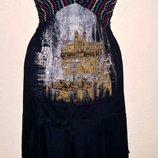 Очень красивое платье сарафан от бренда Save The Queen Marco Fantini