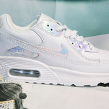 Кроссовки женские Nike Air Max white silver