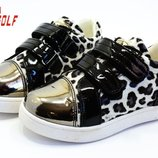 Шикарные туфли-кеды девочкам, р. 21-26
