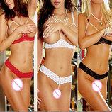 Комплект эротического белья Жемчужинка Эротическое белье Сексуальное белье