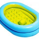 Надувная десткая ванночка для купания Intex 48421 86х64х23 см от 1 до 3 лет
