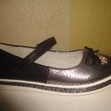 Туфли 34 р. Tom.m на девочку на платформе, балетки, дівчинку, туфлі, весенние, осенние, черные