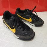 Кроссовки, футзалки д/мал. р. 27,5 10 Nike, Индонезия натур.кожа.