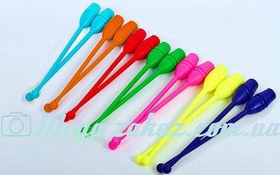 Булавы для художественной гимнастики 35см GM 4435 6 цветов